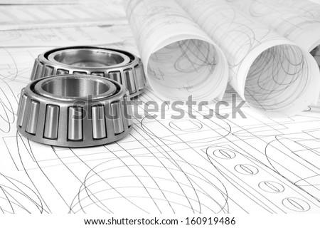 roller bearings and drawings #160919486