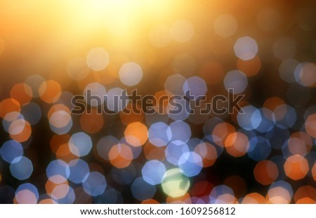 Blurred backdrop, blurred background, circle blur, bokeh blur from the light shining through as a backdrop and beautiful computer screen images. #1609256812