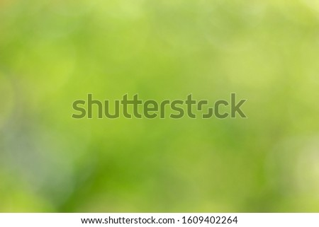 Abstract green bokeh background. Nature bokeh. Green bokeh. Use as Global Warming background. #1609402264