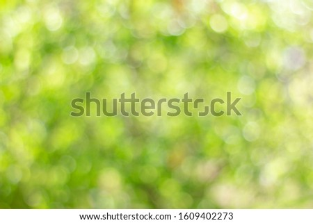 Abstract green bokeh background. Nature bokeh. Green bokeh. Use as Global Warming background. #1609402273
