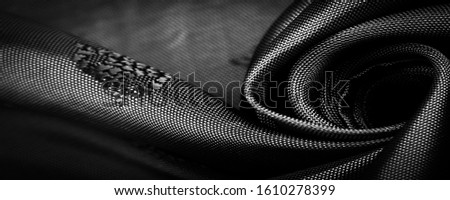 texture, background, pattern, pattern, chocolate, silk fabric, Gray black fine pattern, pattern, representing a combination of lines, colors, shadows. #1610278399