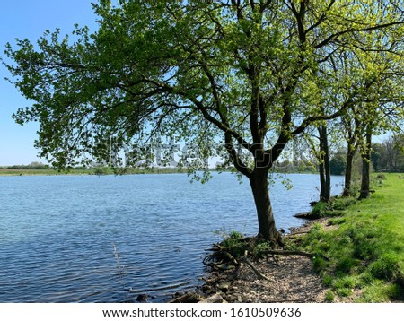 Beautiful picture of river Maas near Maashees #1610509636
