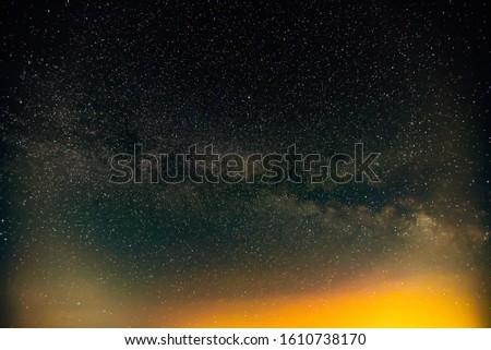 Milky Way  in the night sky. #1610738170