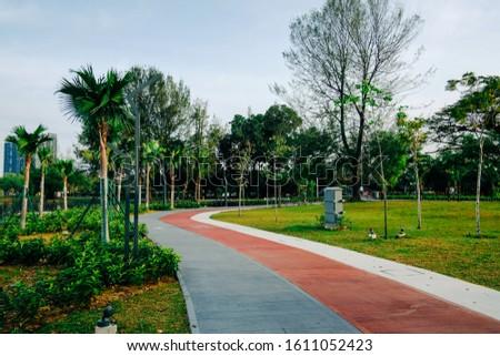 KUALA LUMPUR, MALAYSIA - JANUARY 10TH, 2020. Lanscape Design at  #1611052423