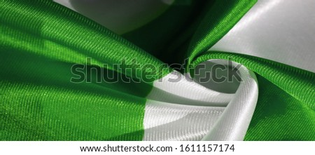 Texture, background, pattern, postcard, silk fabric, green white ovals, your projects will not go unnoticed with this fabric, buying this fabric you will be the best #1611157174