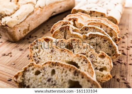 Homemade Gluten Free Bread Royalty-Free Stock Photo #161133104