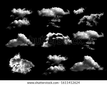 The white clouds, design elements #1611412624