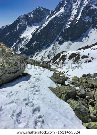 High Tatras in Slovakia, Chata pod Rysmi in winter, Tatra Mountains National Park #1611455524