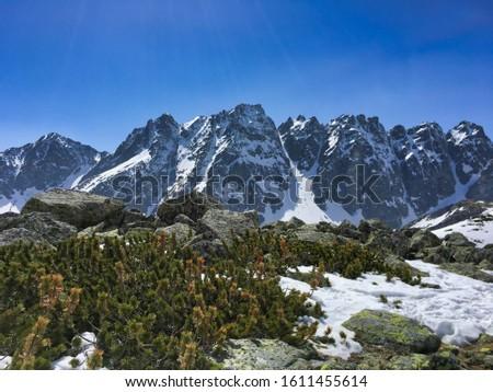 High Tatras in Slovakia, Chata pod Rysmi in winter, Tatra Mountains National Park #1611455614