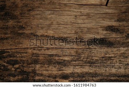 Rustic old wood plank texture for background and design concepts #1611984763