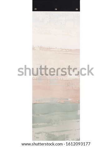 Textile Material Sampler, Color Swatch, stock photography