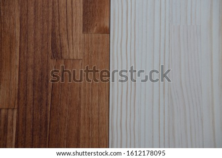 Before and After oil staining wood #1612178095