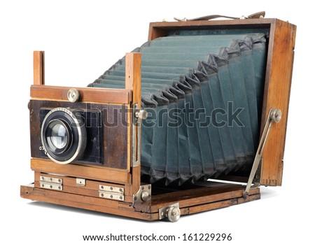 Retro large format camera