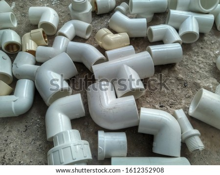 PVC Pipe, PVC Pipe connections, PVC Pipe fitting, PVC Coupling #1612352908