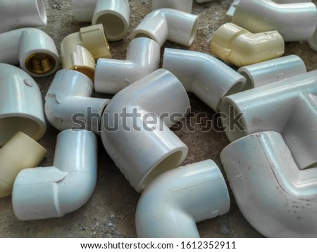 PVC Pipe, PVC Pipe connections, PVC Pipe fitting, PVC Coupling #1612352911