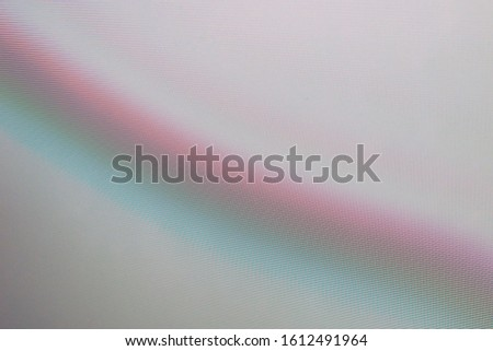 abstract background, the interaction of digital matrices, turquoise pink tone with a rainbow gradient, interference lines #1612491964