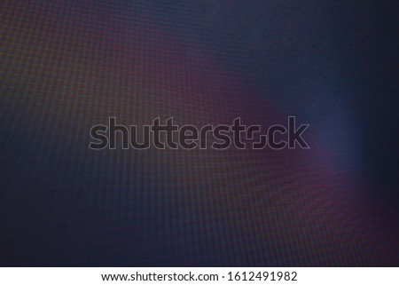 abstract background, the interaction of digital matrices, dark blue tone with a rainbow gradient, interference lines #1612491982