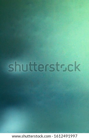 abstract background, the interaction of digital matrices, a dirty turquoise tone with a gradient, interference lines #1612491997