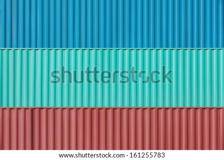 Containers shipping  #161255783