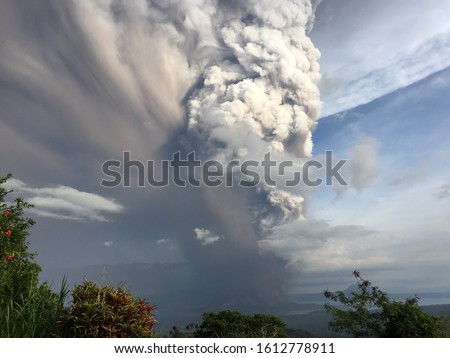 Taal Philippines Volcano Eruption January 2020 #1612778911