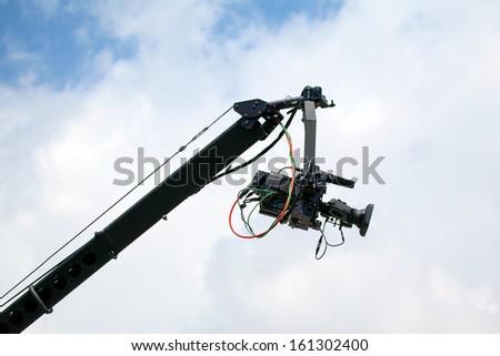 TV camera on the crane