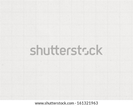 Graph line, paper background