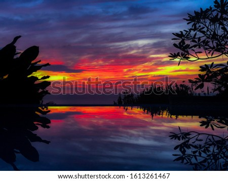 Powerful sunset magnificent sunset fantastic sunset #1613261467