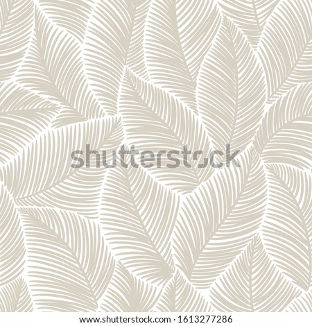seamless  abstract grey floral   background with leaves Royalty-Free Stock Photo #1613277286
