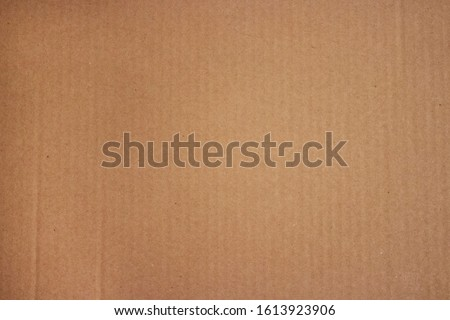 Brown corrugated cardboard texture useful as a background. Cardboard Texture. Cardboard Craft Paper Texture. Closeup of cardboard texture #1613923906