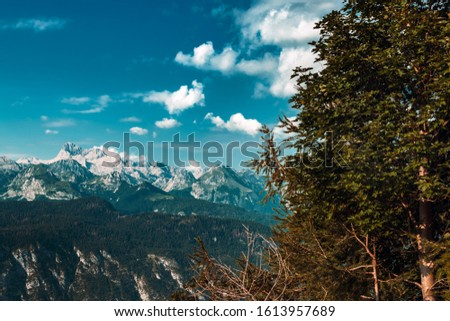 Mount Triglav, highest mountain in Slovenia, part of European Alps #1613957689