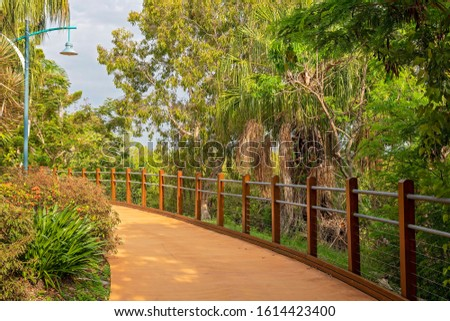 A winding recreational walking track #1614423400
