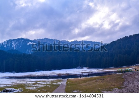 Khajjiar Lake - Mini switzerland in India. Encircled by lush green forests, Khajjiar Lake is a natural splendour, located at an elevation of 1920 mtrs. Among the best places to visit in Himachal #1614604531