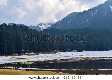 Khajjiar Lake - Mini switzerland in India. Encircled by lush green forests, Khajjiar Lake is a natural splendour, located at an elevation of 1920 mtrs. Among the best places to visit in Himachal #1614604534