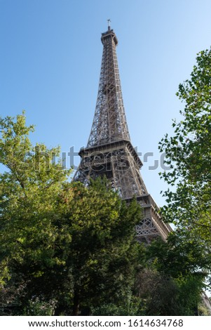 Eiffel Tower in Paris, France. Best Destinations in Europe. #1614634768