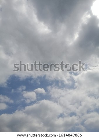 Cloudy sky on a cloudy day   #1614849886
