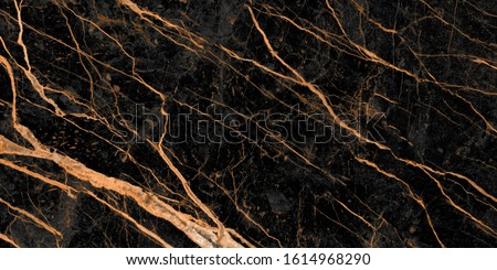 black marble with golden veins, emperador marble natural pattern for background, granite slab stone ceramic tile, rustic matt texture,hi gloss marble stone texture of digital wall tiles design. #1614968290