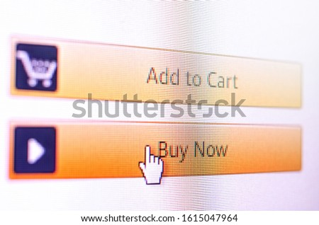"Mouse cursor to the ""Buy now"" button #1615047964"