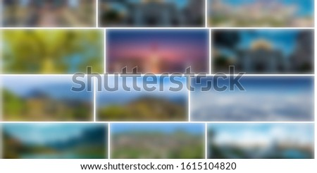 Wallpaper art, blurry colorful rectangles #1615104820