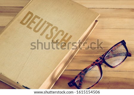 Book to learn German and German translation for German #1615154506