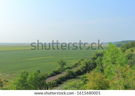 Beautiful farmlands of the Midwest #1615680001