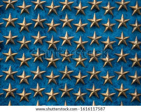 American national flag, stars of the United States of America, proud symbol of unity, independence, democracy, patriotism and freedom #1616117587