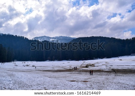 Khajjiar Lake - Mini switzerland in India. Encircled by lush green forests, Khajjiar Lake is a natural splendour, located at an elevation of 1920 mtrs. Among the best places to visit in Himachal #1616214469