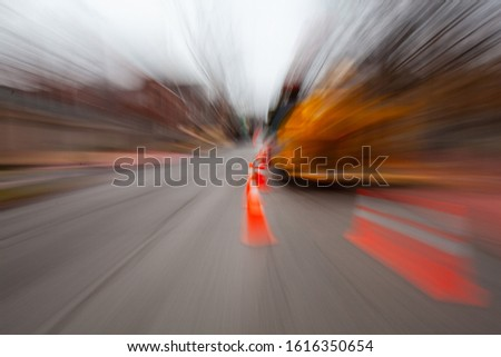 Abstract Impressionist Motion Blur Photography #1616350654