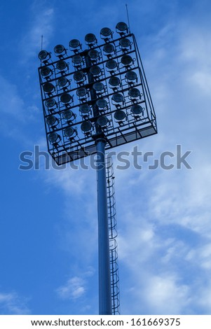 lighting in stadium #161669375