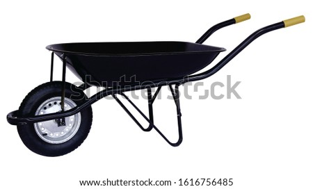 handcart for construction, In black #1616756485
