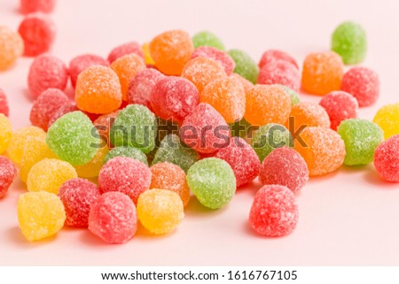 Many types, many flavors and many colors of candy #1616767105