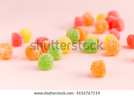 Many types, many flavors and many colors of candy #1616767114