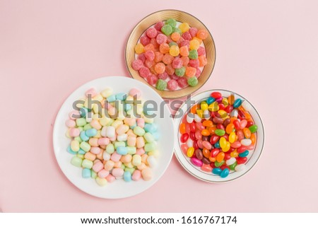 Many types, many flavors and many colors of candy #1616767174
