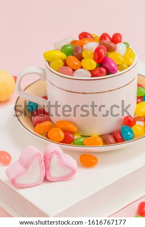Many types, many flavors and many colors of candy #1616767177