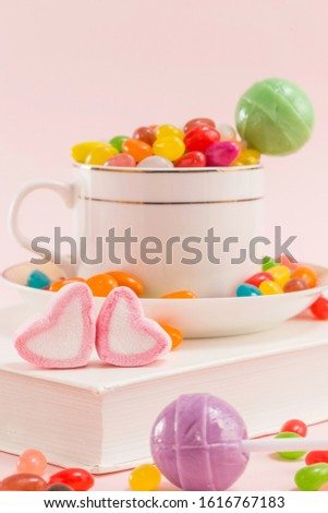 Many types, many flavors and many colors of candy #1616767183